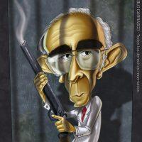 Caricatura del Dr. Barreda (2011).