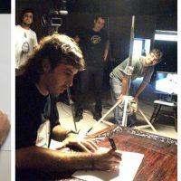 Filmación para el programa Juegos Argentinos (Canal Encuentro).