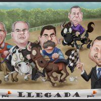 Caricatura grupal para PWC