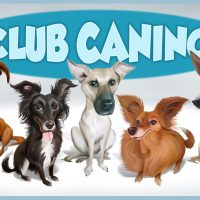 Caricatura grupal para Club Canino.
