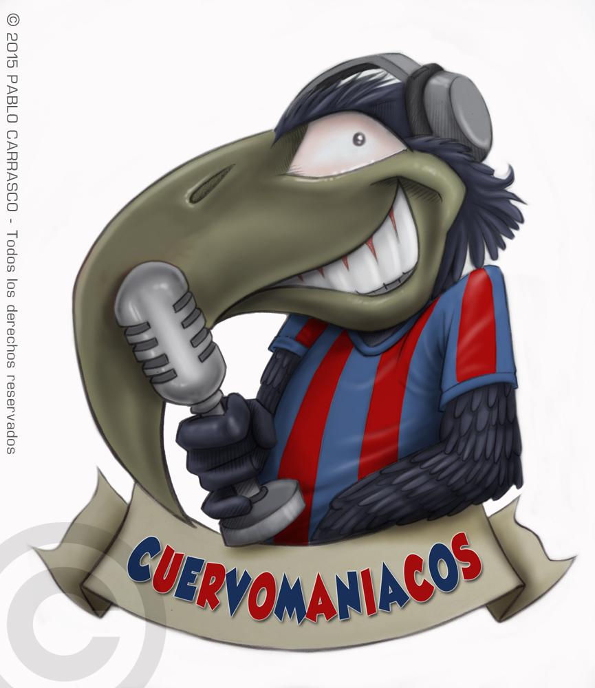 Logo para el programa Cuervomaníacos (2015)