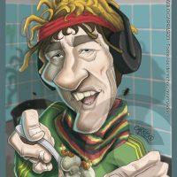Caricatura del Pity Álvarez (2012).